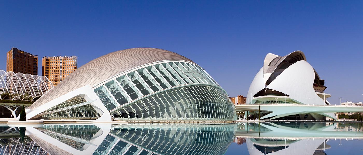 Город наук и искусств Валенсия, Испания